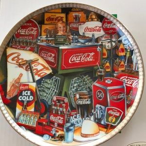 Coca Cola Ad collectors Plate #1483 David Lencho